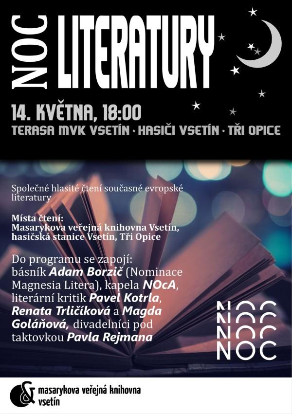 Noc literatury Vsetín 2014
